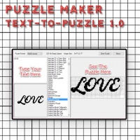 Puzzle Maker Text-To-Puzzle 1.0