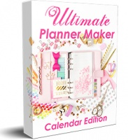 Ultimate Planner Maker - Calendar Edition